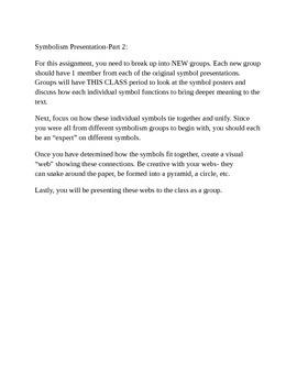 Scarlet Letter Symbolism Group Presentations