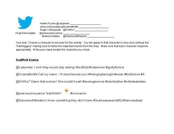 Scarlet Letter Twitter activity