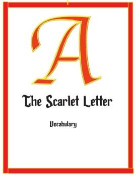 Scarlet Letter Vocabulary