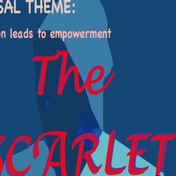 Scarlet Letter with Universal Theme poster