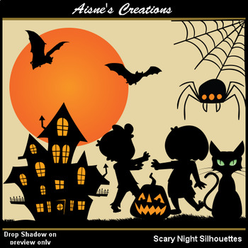 Scary Night Silhouettes