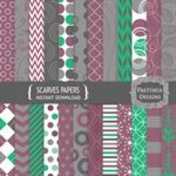 Scarves Paper Pack