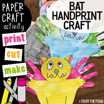 Bat Craft - Paper & Painting Art/Craft + Writing