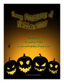Scary Feelings of Halloween