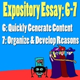 Scary Good Expository Essay part 6-7 Organize Essay & Deve