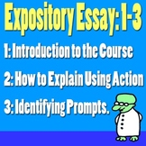 Scary Good Writing: Expository Essay Part 1-3: Identifying Prompts Common Core}