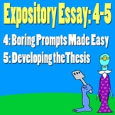 Scary Good Writing: Expository Essay Part 4-5: Developing