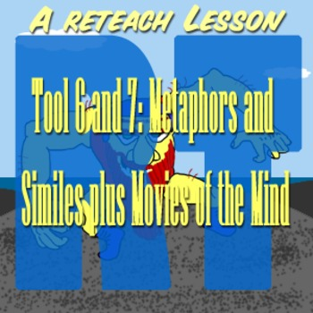 Scary Good Writing Narrative Essay Reteach Tool 6-7: Metaphor Movies of the Mind