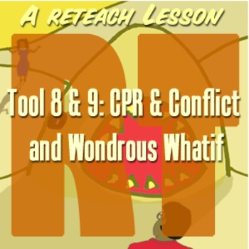 Scary Good Writing Narrative Essay Reteach Tool 8-9: CPR and Wondrous Whatif
