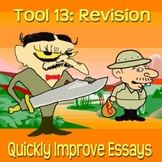 Scary Good Writing: Narrative Essay Tool 13: Revision (Ali