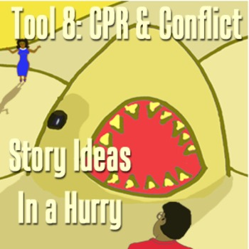 Scary Good Writing: Narrative Essay Tool 8: CPR Conflict (Aligns Common Core}