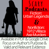 Scary Podcasts: Lore and Urban Legends