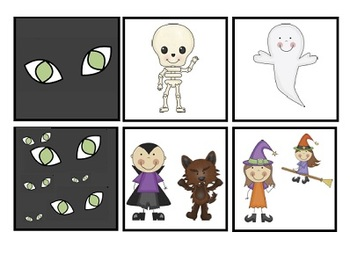 """Scary, Scary Halloween"" by Eve Bunting - Companion / Activity Pack, sequencing"