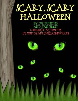 """Scary, Scary Halloween"" by Eve Bunting & Jan Brett: Literacy Activities"