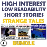 Scary Short Stories for Middle and High School