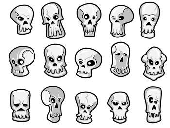 15 Scary Skulls
