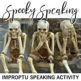 Spooky Speaking: Impromptu Speeches Lesson and Activity