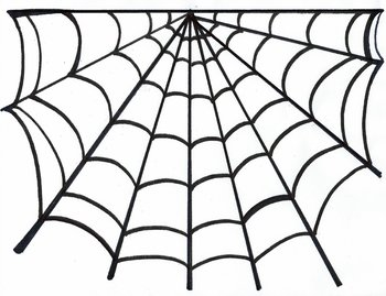 Scary Spider Web