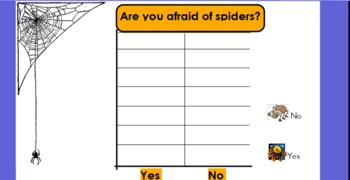 Scary Spiders: A Whiteboard Flipchart Resource