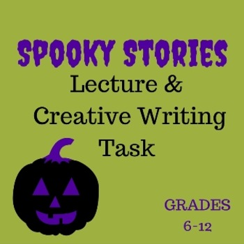 Spooky Stories Creative Writing Lesson