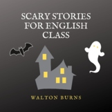 Scary Stories for English Class Printable PDF ebook