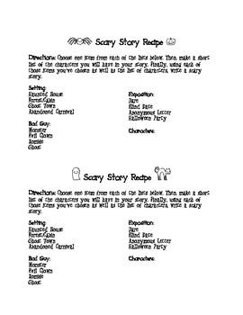 Scary Story Recipe