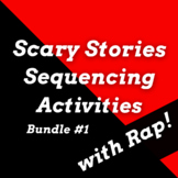 Scary Stories Unit for Middle School with Sequence of Events Activities