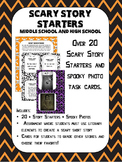 Scary Story Starters Halloween High School and Middle School