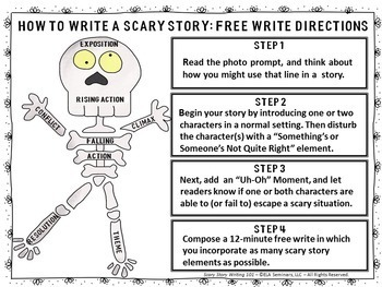 Scary Story Writing 101 (Interactive or Distance Learning)