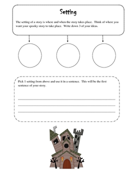 scary story writing packet by savvy second graders tpt scary story writing packet