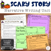 Halloween Writing: Scary Story Narrative Unit with Google Version
