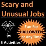 Halloween Career Activities, Scary and Unusual Jobs - Prin