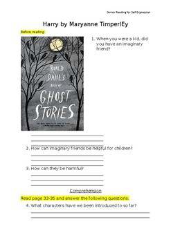 Scary stories- Senior VCAL Reading for Self Expression