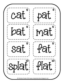 Scat Cat - A Short 'a' Reading Game