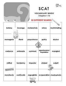 Scat Vocabulary Bingo