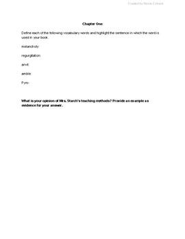 Scat by Carl Hiaasen: Project-based Novel Study