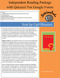Scat by Carl Hiaasen for Google Forms Independent Reading