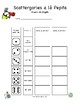 Scattegories Inspired Vocabulary Game for GERMAN Class