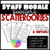 Scattegories for Teachers (Staff Morale)
