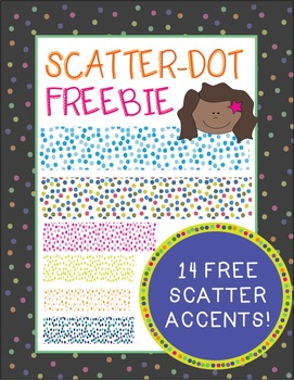 Scatter-Dot Accent {Freebie!}