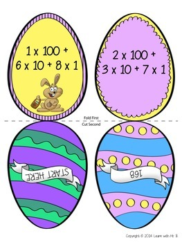 Scatter & Gather: An Expanded Form Easter Activity