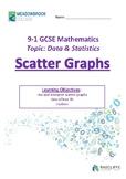 Scatter Graphs
