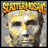 Scatter Mosaic - Abraham Lincoln (Banner, Sign, Wall Art)