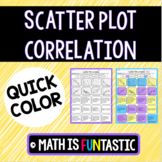Scatter Plot Correlation Quick Color