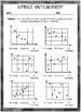 Scatter Plot Graph Worksheets