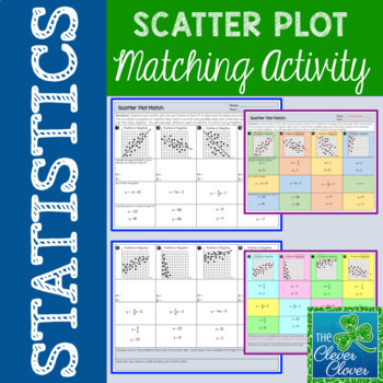 Scatter Plot Matching Activity