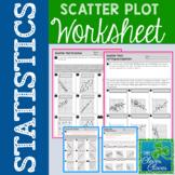 Scatter Plot Worksheet