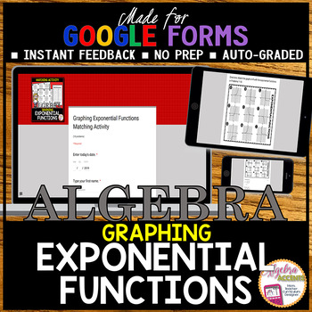 Graphing Exponential Functions (Made for Google Drive)