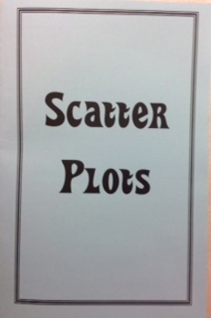 Scatter Plots Foldable