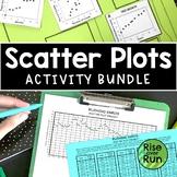 Scatter Plots Bundle of Activities for Algebra 1